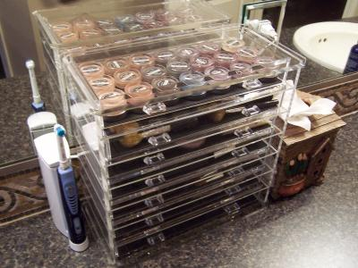 7 Drawer Premium Clear Acrylic Chest The Container Store