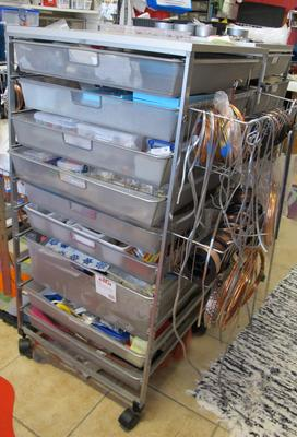 White Elfa Mesh Drawers The Container Store