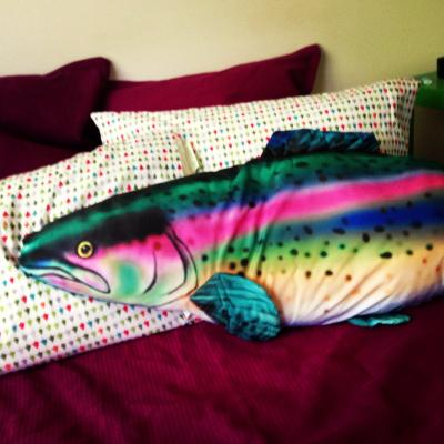 tutorial pillow trout fish