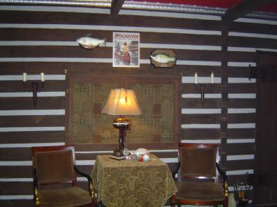 boat motor table lamp bass pro shops. Black Bedroom Furniture Sets. Home Design Ideas