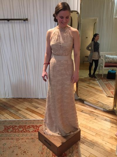 Aerin gown in sale wedding dresses at bhldn for Wedding dress size 10 equivalent