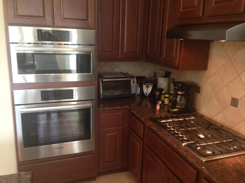 Double Wall Oven With Microwave Function Range