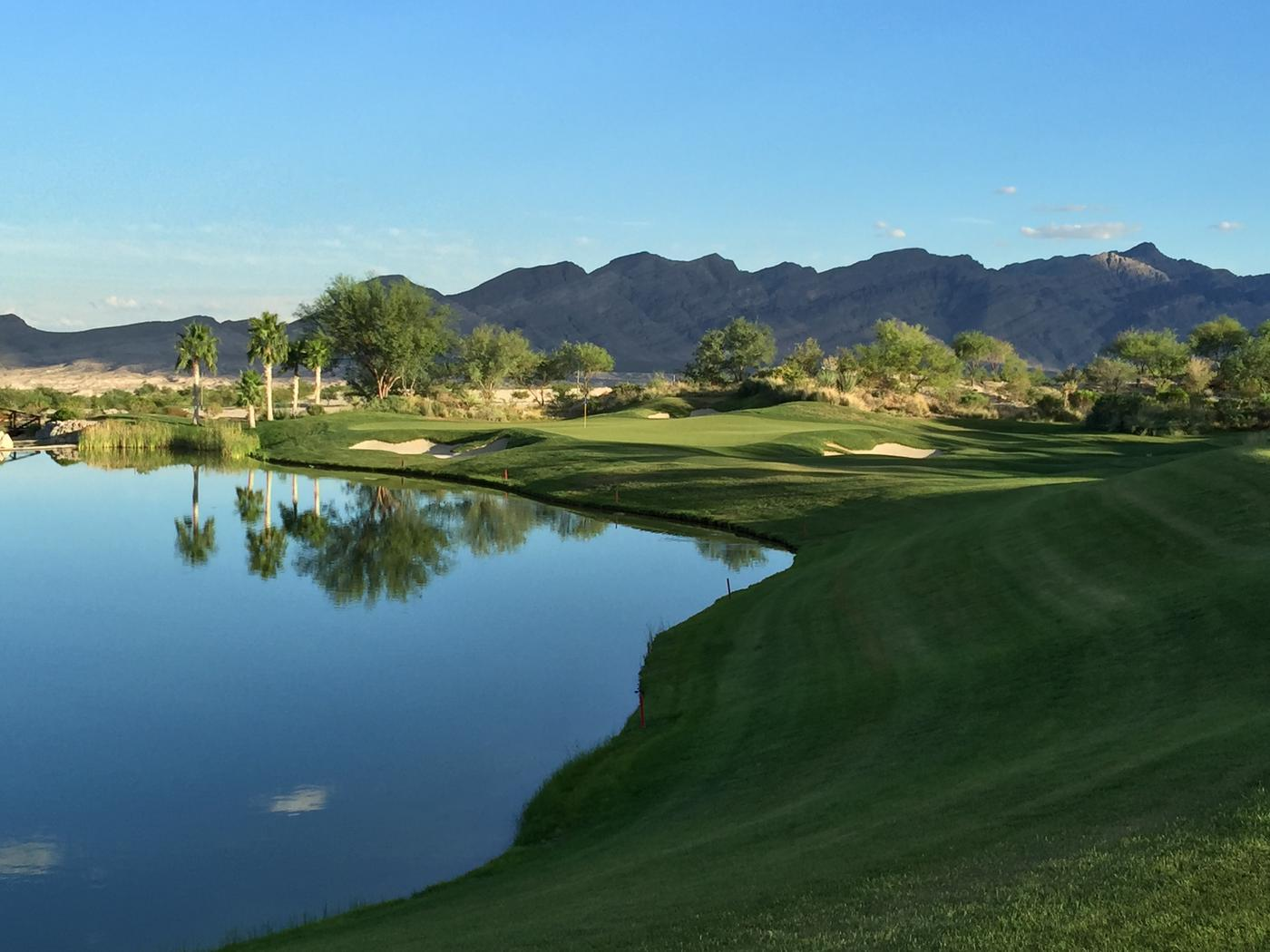 coyote springs Coyote springs golf club (previously known as coyote springs - the chase course) is located less than one hour from the las vegas strip and just 45 minutes from mesquite, nevada.