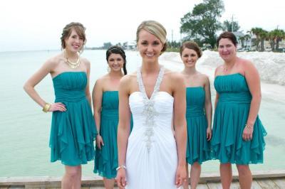 strapless chiffon dress with layered skirt style f14169 « Bella ...