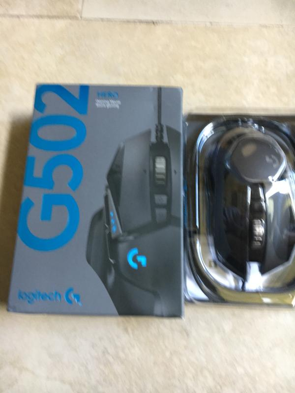 Logitech Gaming Mouse G502 (Hero) - Mouse - optical - 11