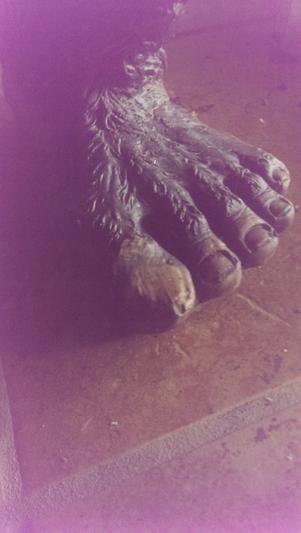 Bigfoot, The Garden Yeti Sculpture