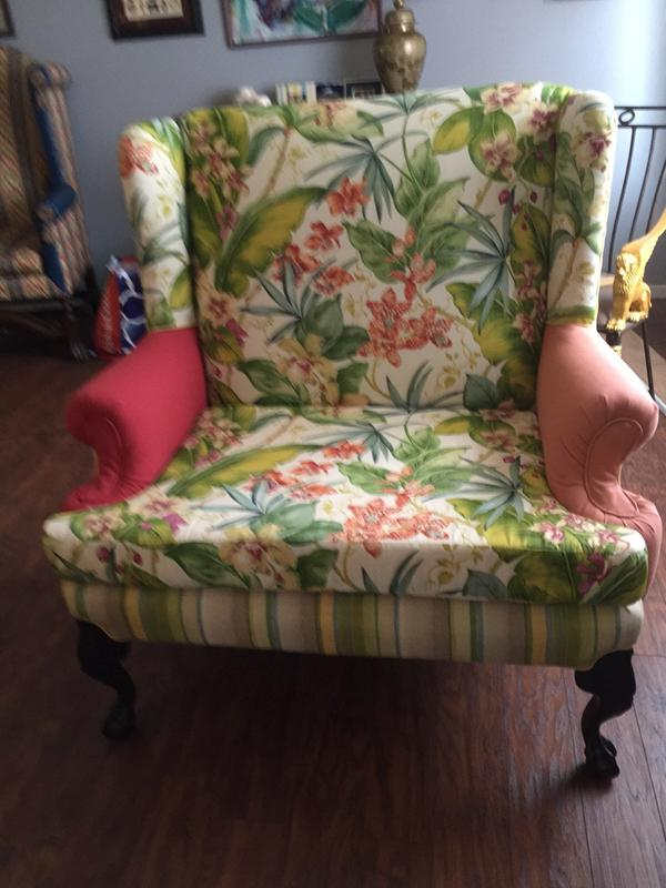 Double Wingback Chair