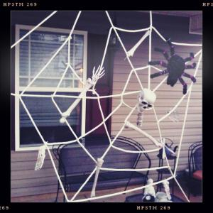 DIY Spiderweb