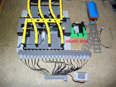 Lego servo motor steering