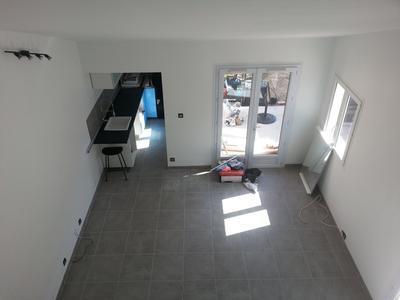 carrelage sol gris effet b ton alma x cm leroy merlin. Black Bedroom Furniture Sets. Home Design Ideas