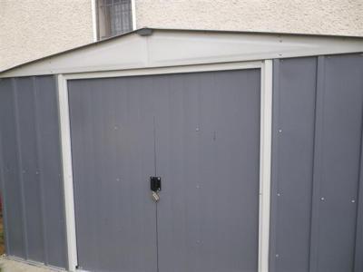 Abri de jardin m tal lm 106 kit ancrage ep mm leroy merlin - Ancrage balancoire leroy merlin ...