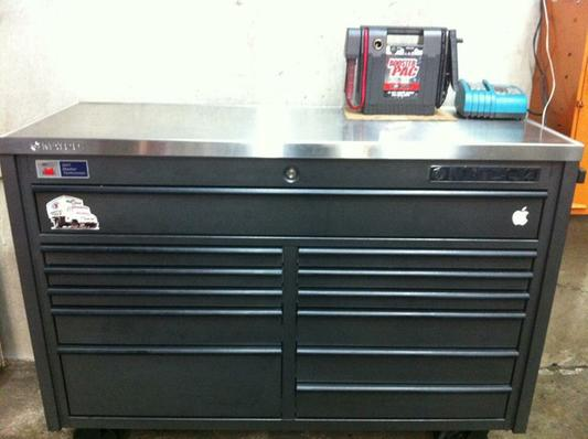 4s Double Bay 22 Quot Deep Tool Box Outlaw Black Paint W