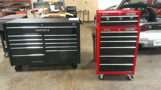 matco triple bay tool box weight 3