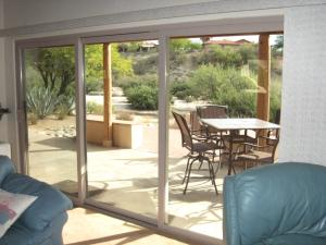 Patio sliding door - wow!
