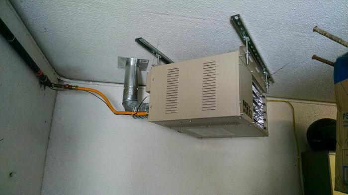 Duravent Vent Unit Heater Kit 3in Vertical Model 0370