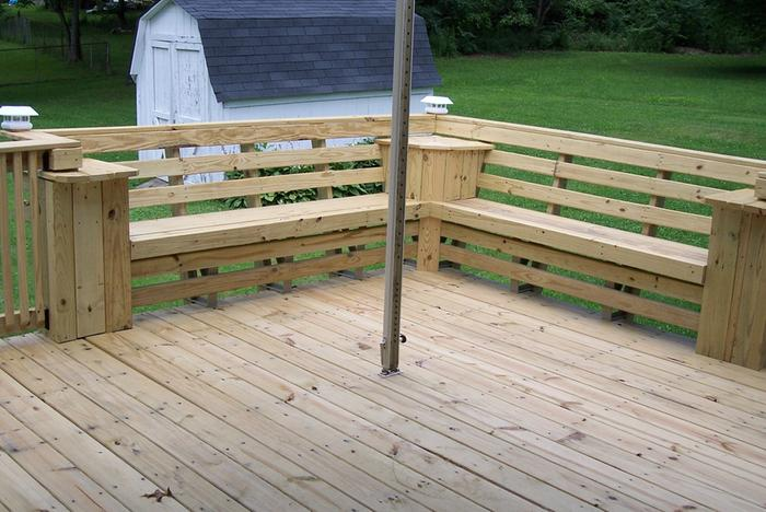 Outdoor Wood Bench Instructions