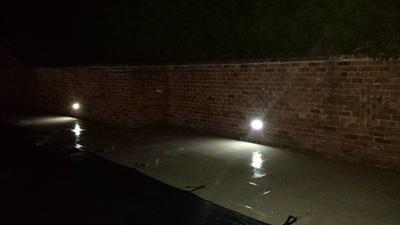 Screwfix Switched Wall Lights : Dakota LED Brick Light Stainless Steel 0.07W Brick Lights Screwfix.com
