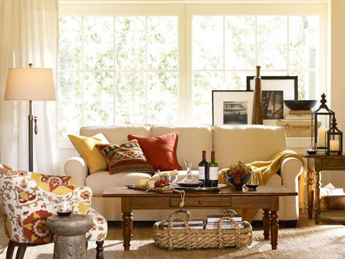 all the chic things interior inspiration fall colors in