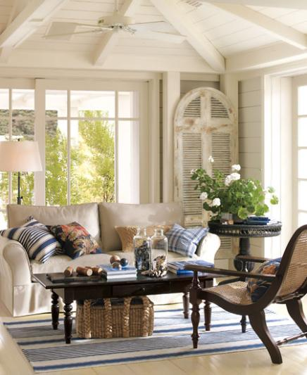 Natural decor design your dream home for Natural living room decorating ideas