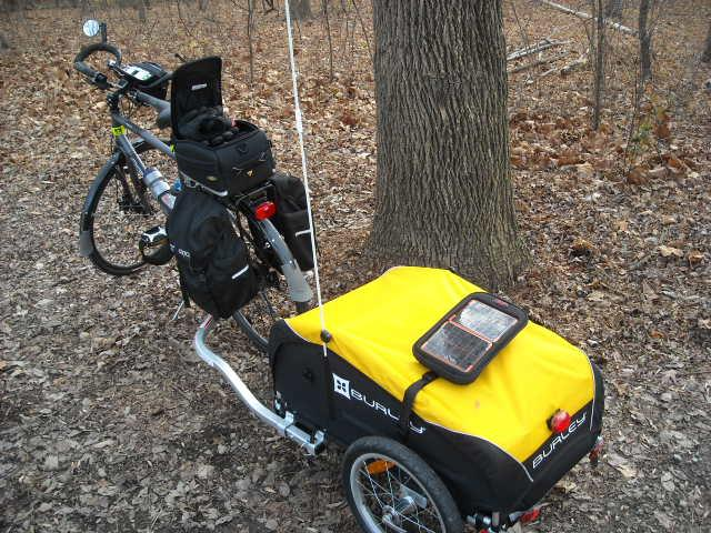 Bikes At Work Trailer Review My Pack Mule at work