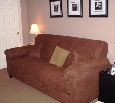 Montero Microfiber Convert A Couch Sofa Bed Images