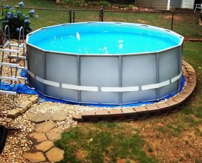 Walmart Intex Intex 15 X 48 Metal Frame Swimming Pool Party Invitations Ideas