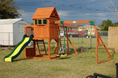 best outdoor wooden playsets reviews