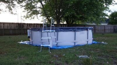 Proseries 14 39 X 42 Quot Metal Frame Swimming Pool With Deluxe Kit