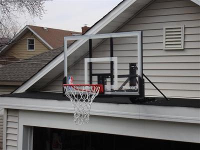 Garage basketball hoops driverlayer search engine for Basketball garage