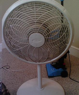 Lasko Cyclone 1825 Floor Fan Mm Diameter 3 Speed Quiet Adjustable Height