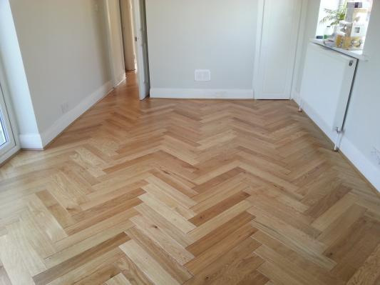 Herringbone Oak Engineered Wood Flooring Topps Tiles