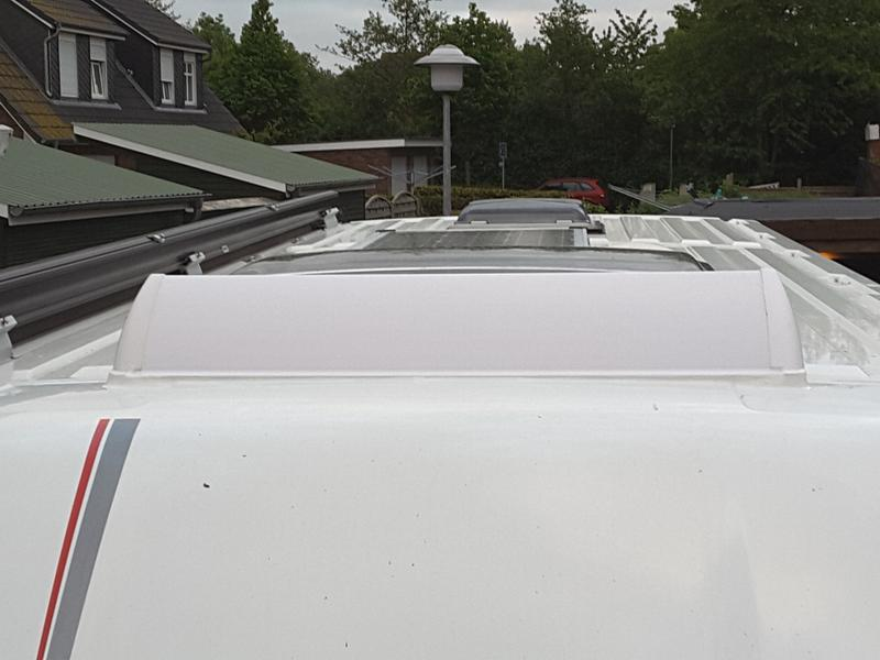 Spoiler FIAMMA Dachhaube Dachluke Wohnmobil Caravan 28 bis 110cm ZUSCHNEIDBAR
