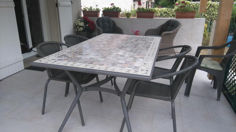 Table De Jardin Mosaique Castorama