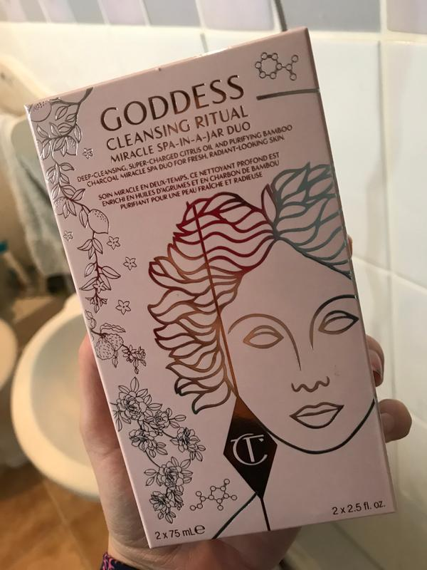 Goddess Cleansing Ritual - Oil & Charcoal Cleanser Duo