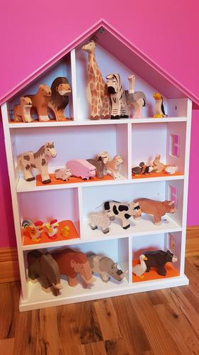 George Home House Shaped Bookcase Home Garden George At Asda