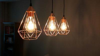 bol.com | EGLO Vintage Tarbes - Hanglamp - Draadlamp - 3 Lichts ...