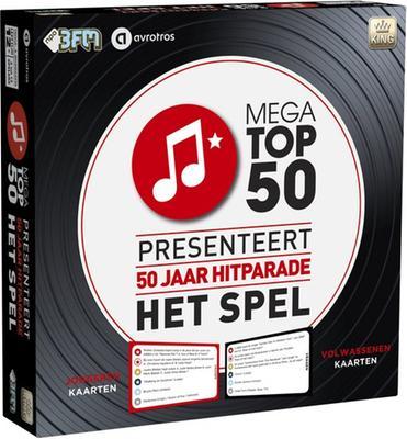 50 jaar hitparade bol.| Mega Top 50 Spel '50 jaar', King International | Speelgoed 50 jaar hitparade