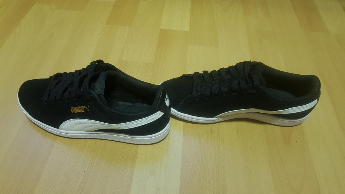 8a22d458a35 bol.com   PUMA Vikky Sfoam Sneakers Dames - Puma Black / Puma White ...