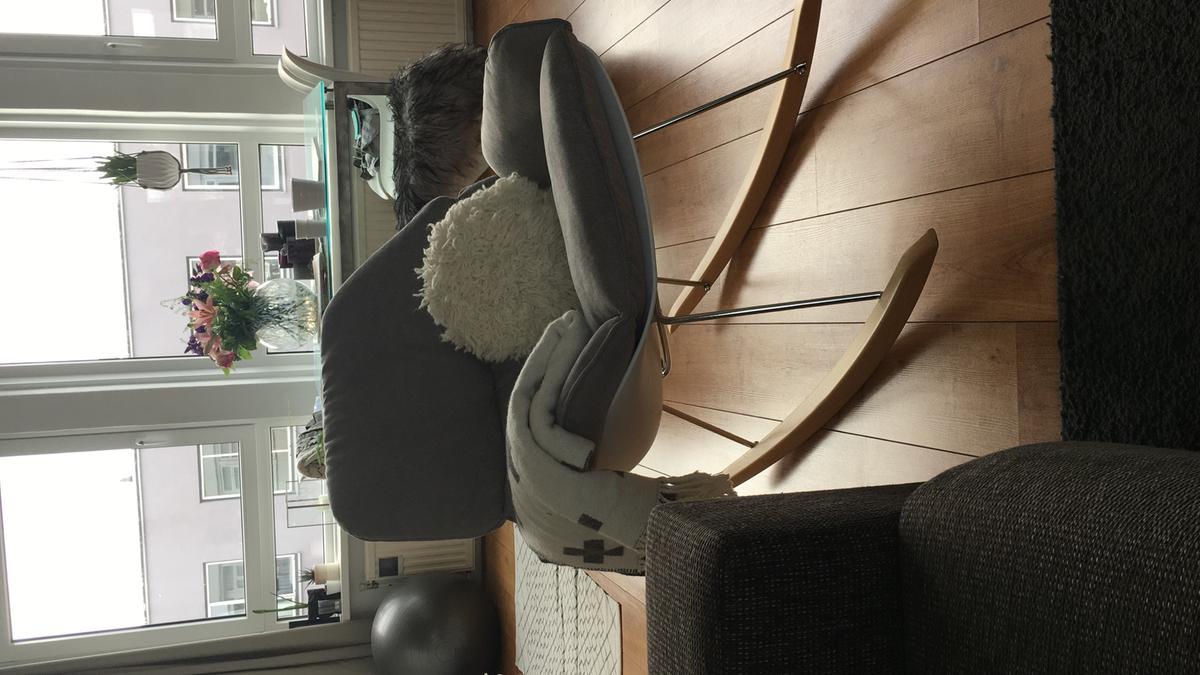 Schommelstoel Op Balkon : Bol designs schommelstoel rocky witte kuipzitting