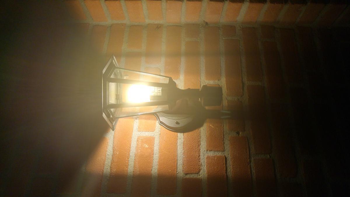 bol.com | EGLO Laterna 4 - Buitenverlichting - Wandlamp Met Sensor ...
