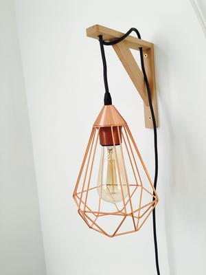 bol eglo vintage tarbes tafellamp draadlamp 1 lichts