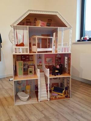 Kidkraft savannah poppenhuis kidkraft for Poppenhuis kind 2 jaar