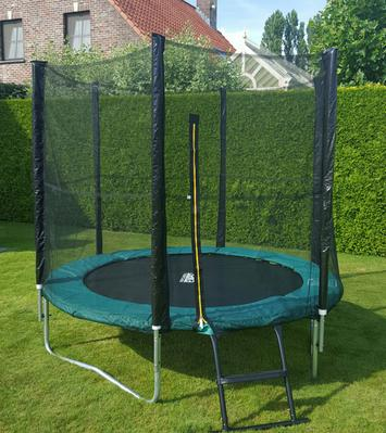 salta combo 244 cm groen trampoline. Black Bedroom Furniture Sets. Home Design Ideas