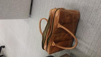 c41faf9ff42 bol.com   BURKELY VINTAGE TAYLOR WORKER laptoptas 15.6 inch - Cognac