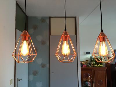 bol eglo vintage tarbes hanglamp draadlamp 3 lichts