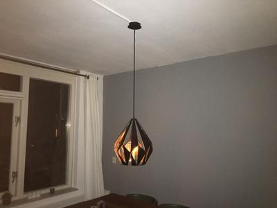 Vaak bol.com | EGLO Vintage Carlton 1 - Hanglamp - 1 Lichts -Ø310mm &ZZ36