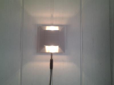 Wandlamp Met Snoer : Bol lucide bok wandlamp g wit
