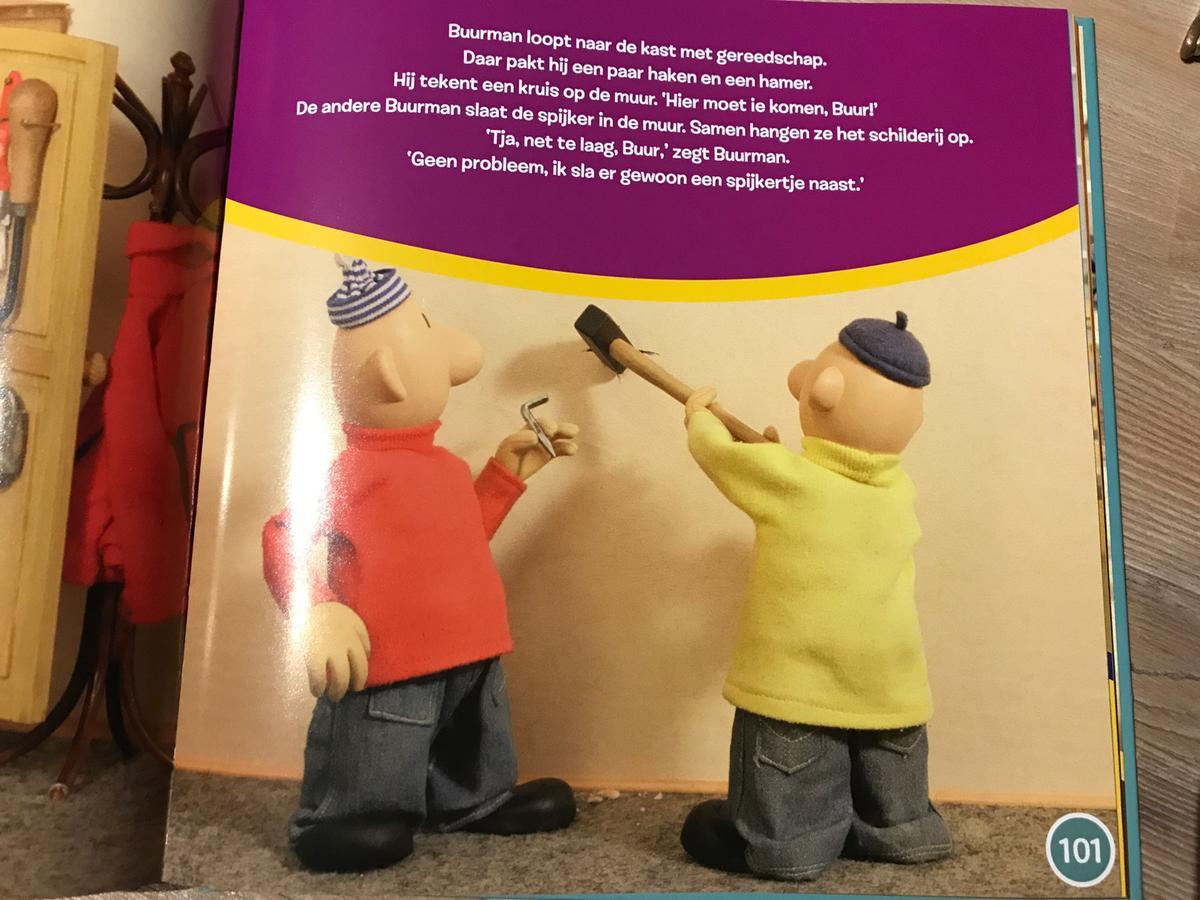 Bolcom Buurman Buurman Voorleesboek 9789463131971 Boeken