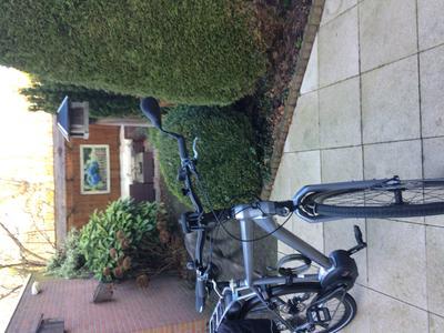 spiegel e bike b m in stuur lang zwart. Black Bedroom Furniture Sets. Home Design Ideas