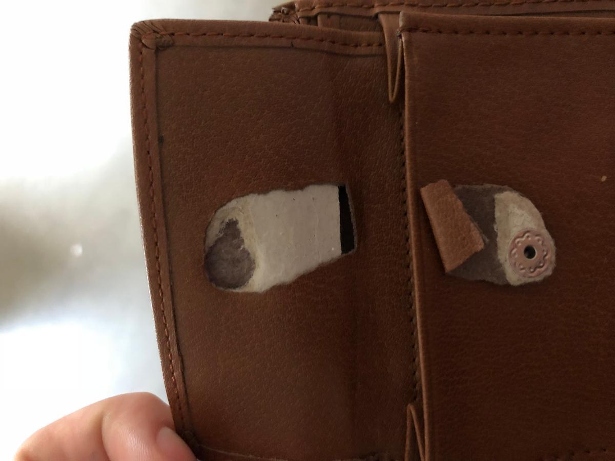 United entertainment pulp fiction portemonnee bruin echt leder bmf wallet gizzys - Porte monnaie pulp fiction ...